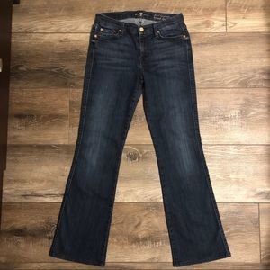 7 For All Mankind Karah Bootcut Size 28